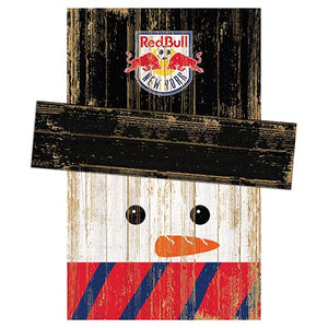 New York Red Bulls Snowman Head