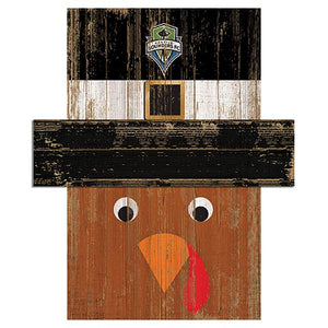 Seattle Sounders Turkey Head