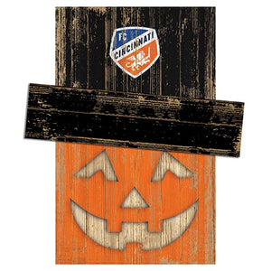 FC Cincinnati Pumpkin Head w/Hat