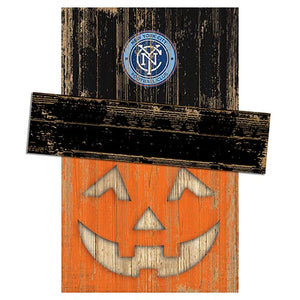 New York City FC Pumpkin Head w/Hat