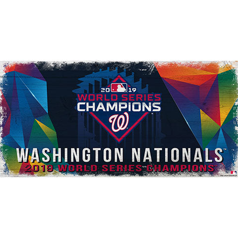 Washington Nationals: World Series Champions 6x12 Color Sign