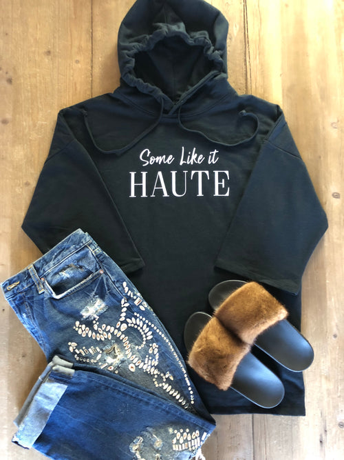 Some Like It Haute Oversized Hoodie