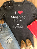 I Love Shopping Bravo & Coffee