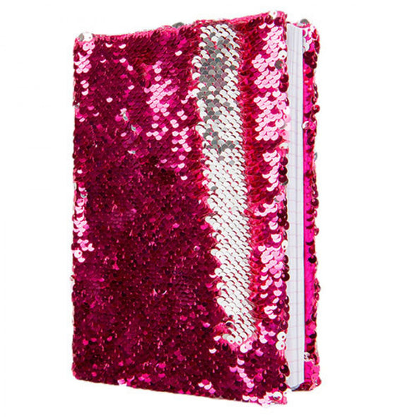 Rose Platinum Magic Sequin Journal