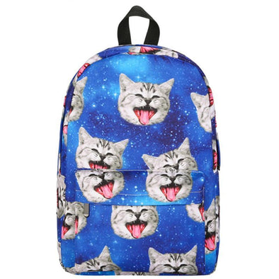 Cat Face Back Pack