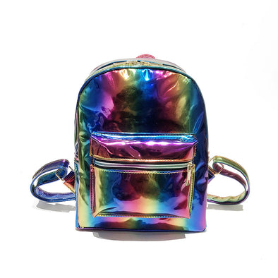 Rainbow Hologram Mini Back Pack