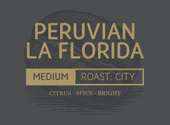 Peruvian La Florida Wallhouse Coffee Company