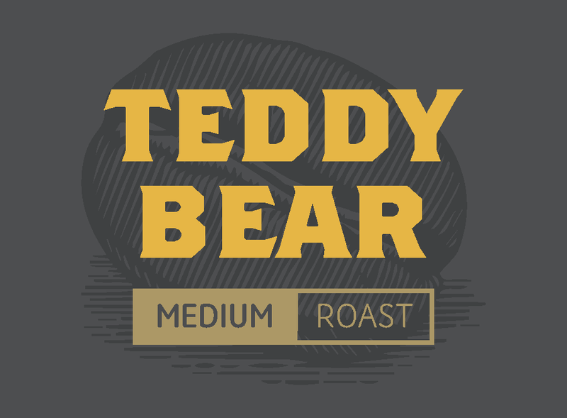 Teddy Bear Wallhouse Coffee Company