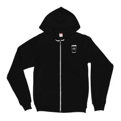 Zip-Up Hoodie - Hot Cup