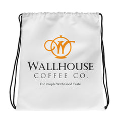 Drawstring bag - Wallhouse Coffee Logo