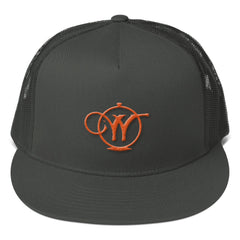 Mesh Back Snapback - Wallhouse Logo