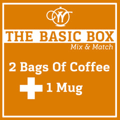 Pick 2 Coffees + 1 Mug