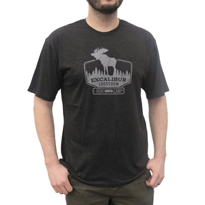 Excalibur Hunt Camp T-shirt (Charcoal)
