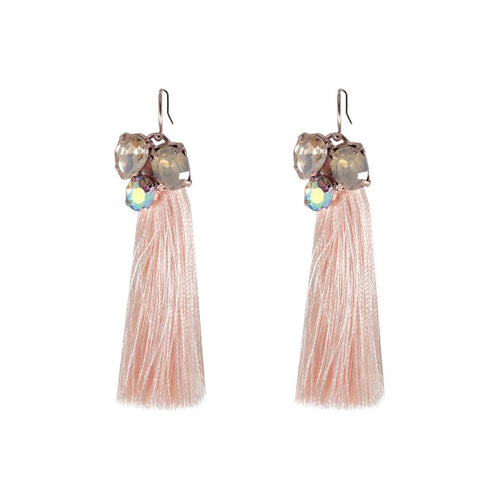 Artemis Tassel Earrings - Western Glamour
