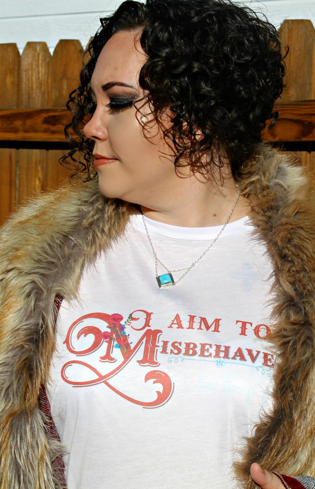 Misbehave Graphic Tee