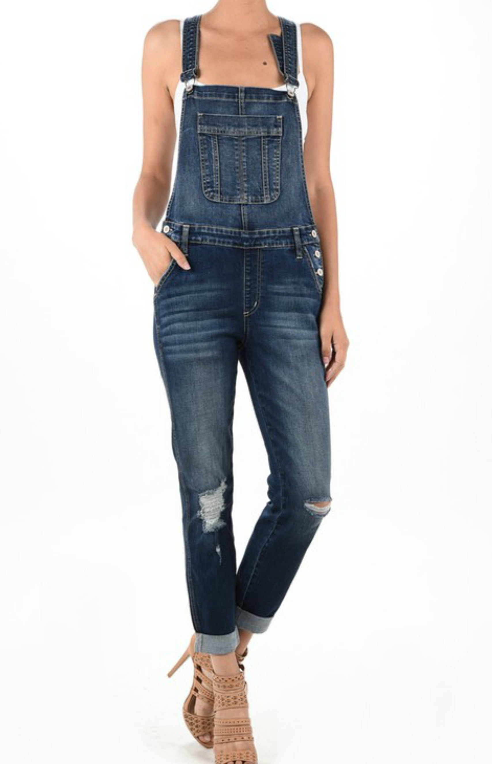 Blue Jean Baby Denim Overalls