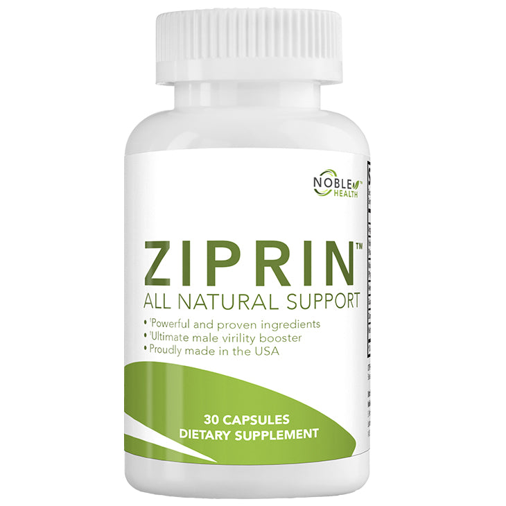 ZIPRIN™ - The best natural E.D. solution available without a prescription!