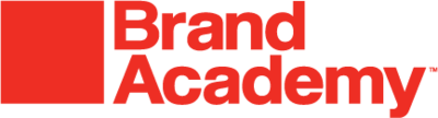 Brand Academy Store Logo red graphic