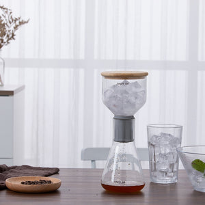 Coffee Set Ice Cold Brew Glass Beaker