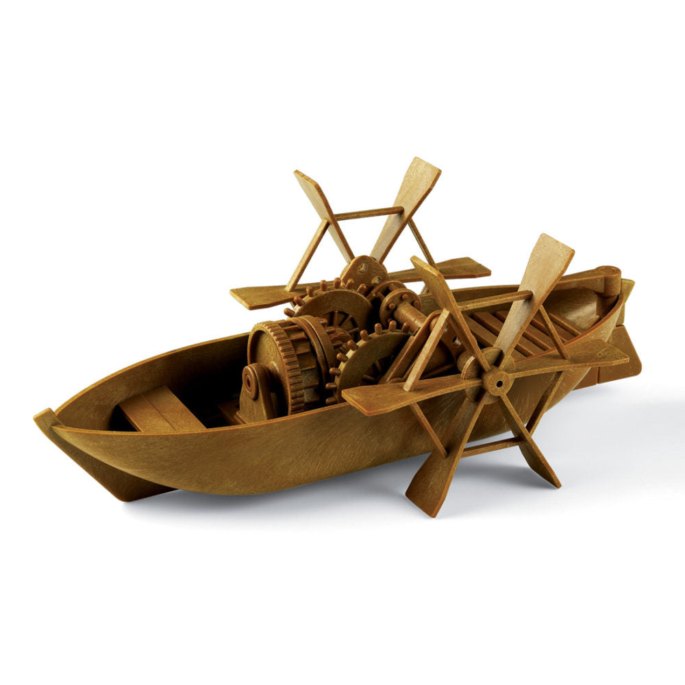 Da Vinci Collection Paddle Boat Model Kit