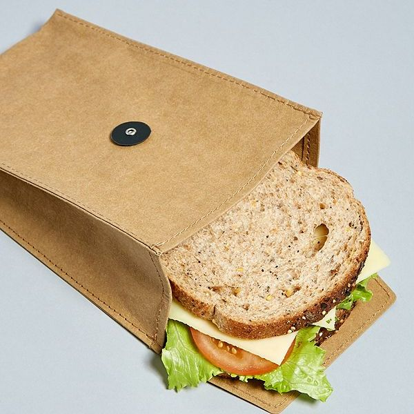 Reusable Sandwich Bag Eco Zuperzozial Brown