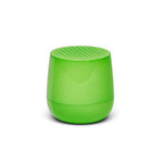 Ultra-portable bluetooth speaker in neon green