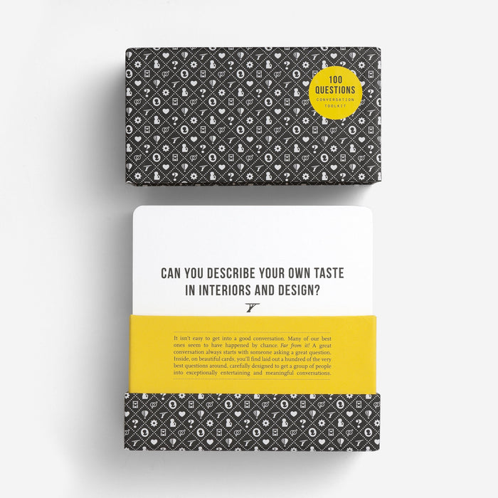 100 Questions: Original edition Game The School of Life - Brand Academy Store