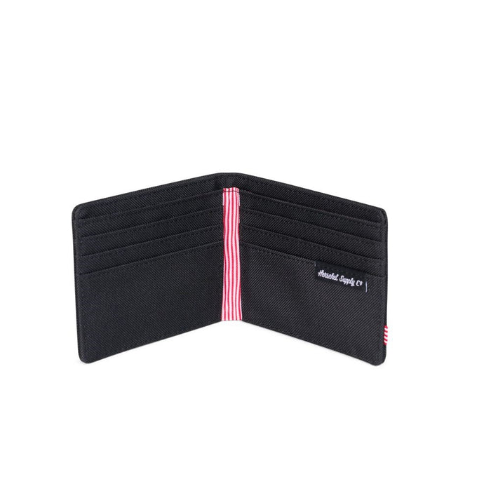 Herschel wallet Roy black slim Fashion Herschel - Brand Academy Store