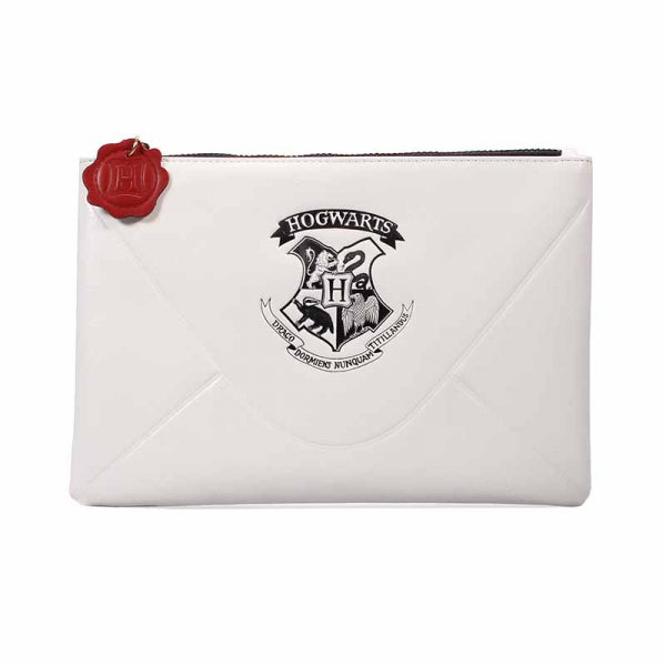 Harry Potter pouch with Hogwarts Acceptance Letter in white