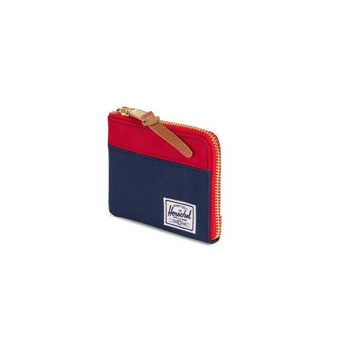 Herschel Johnny zip wallet in navy red Fashion Herschel - Brand Academy Store