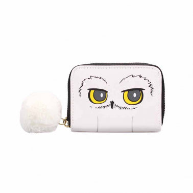Harry Potter coin purse with Hedwig in white