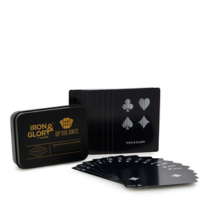 Deck of playing cards 'Up The Ante' Silver