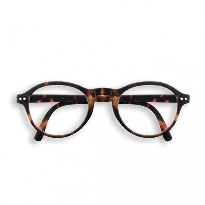 Reading glasses - shape F tortoise | +1.5