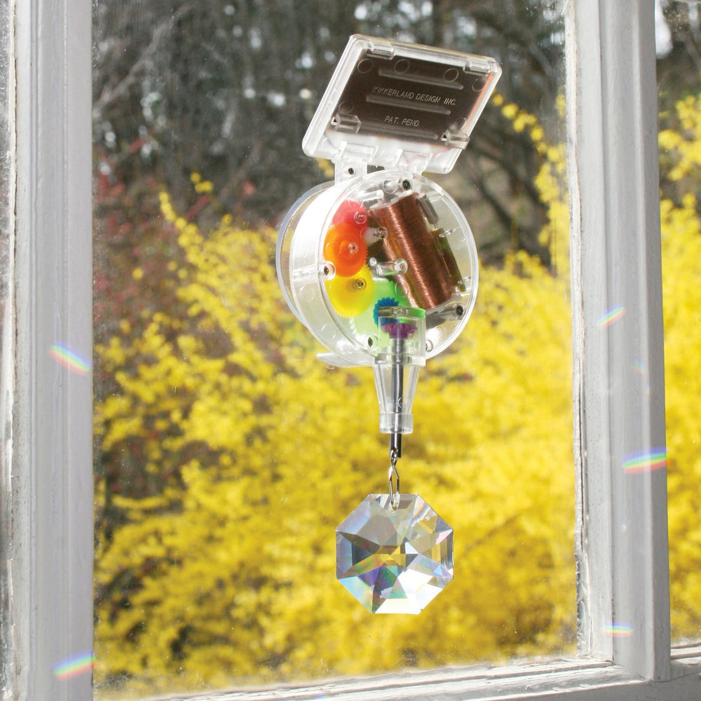 Load image into Gallery viewer, Rainbow Maker Swarovski Crystal Solar Powered Window Decoration