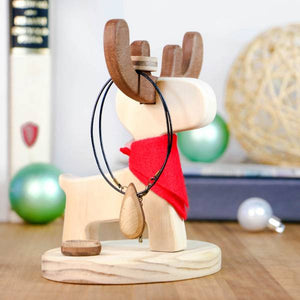 Desk Tidy Cup Holder/ Jewellery Stand Accessories Reindeer