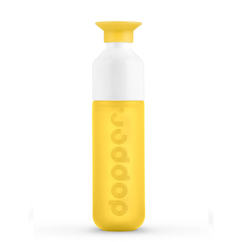 Dopper sunshine yellow water bottle Stationery Dopper - Brand Academy Store