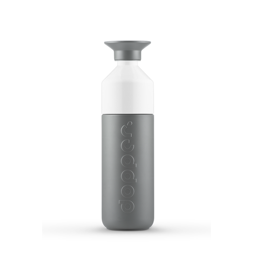 Dopper insulated bottle 580 ml | Grey Water Bottle Dopper - Brand Academy Store