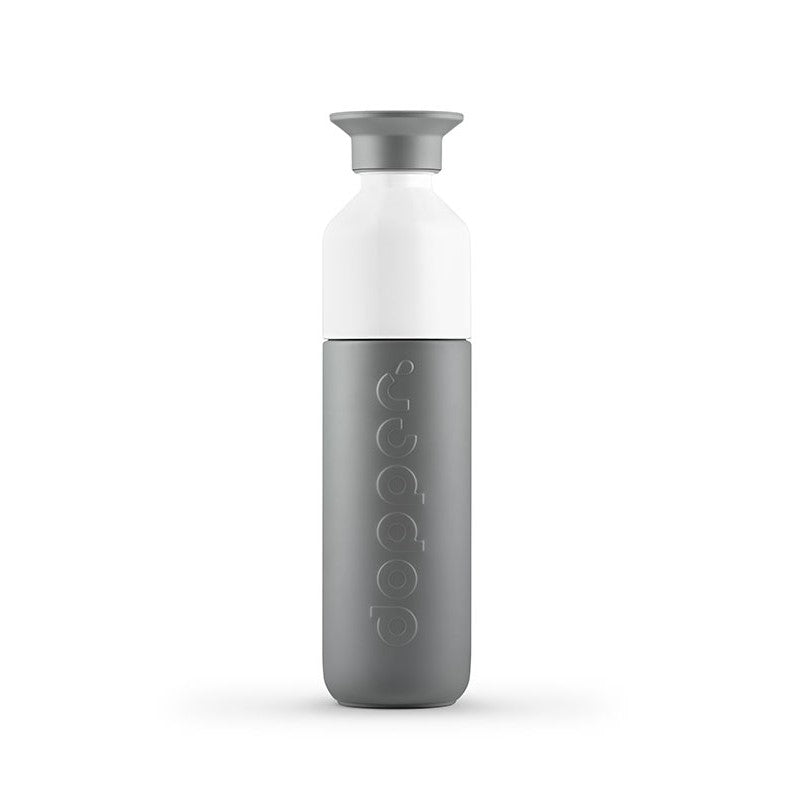Insulated water bottle 350 ml | Grey