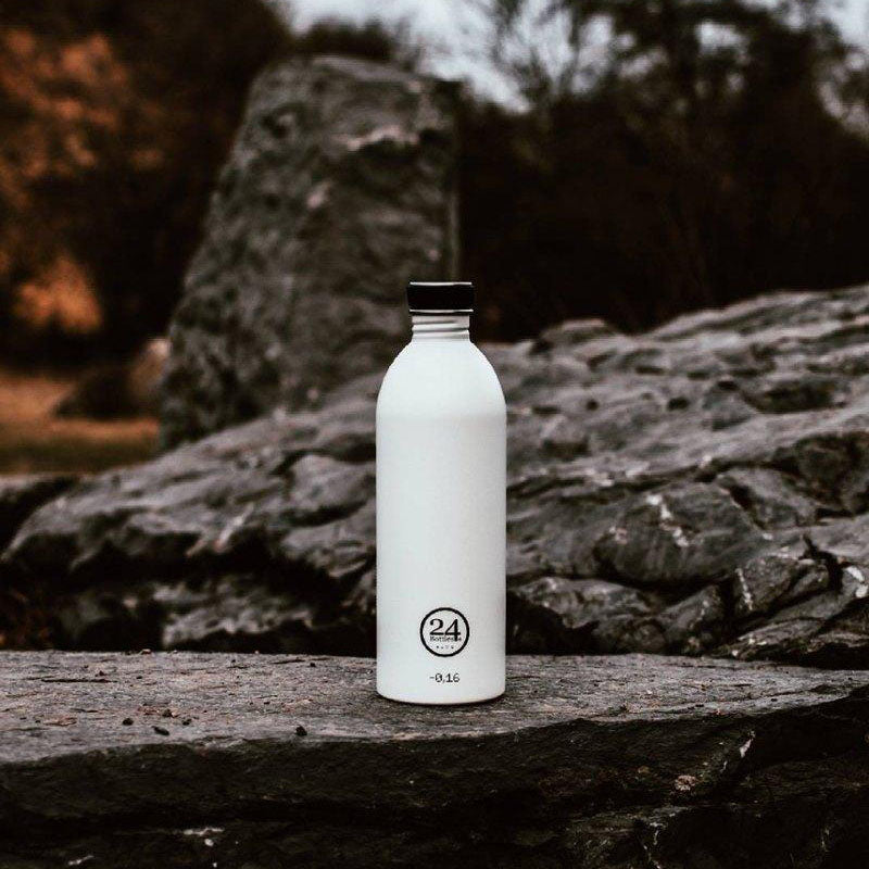 Load image into Gallery viewer, Water Bottle Lightweight 1L Ice White