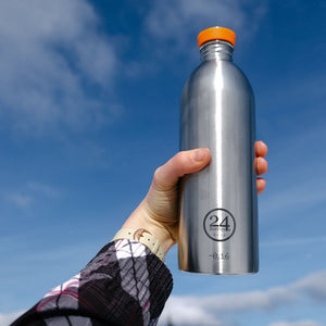 Load image into Gallery viewer, Water Bottle Lightweight 1L Steel