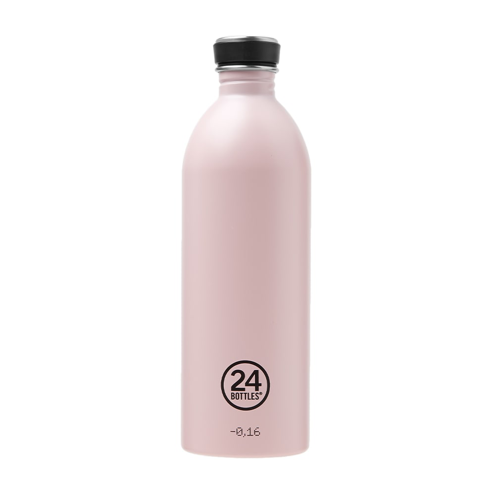 Water Bottle Lightweight 1L Candy Pink