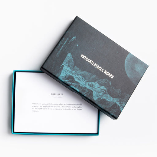 Untranslatable words cards The School of Life - Brand Academy Store