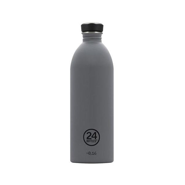 Water Bottle Lightweight 1L Formal Grey