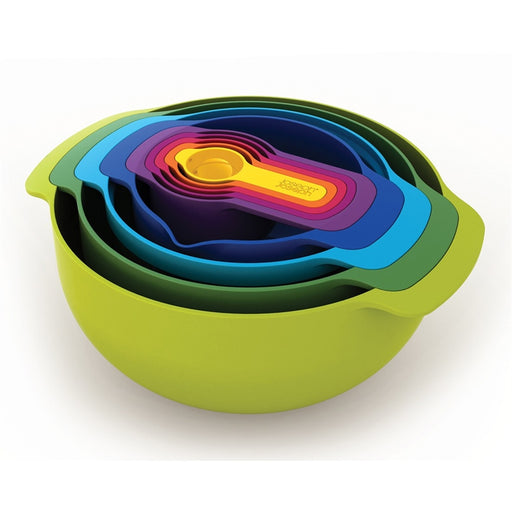 Nest Plus 9 Cups and Bowls Set Kitchen Joseph Joseph - Brand Academy Store
