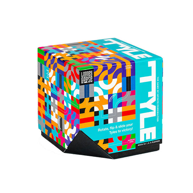 Puzzle Tyle Game Lateral Thinking 2 - 4 players Multicoloured