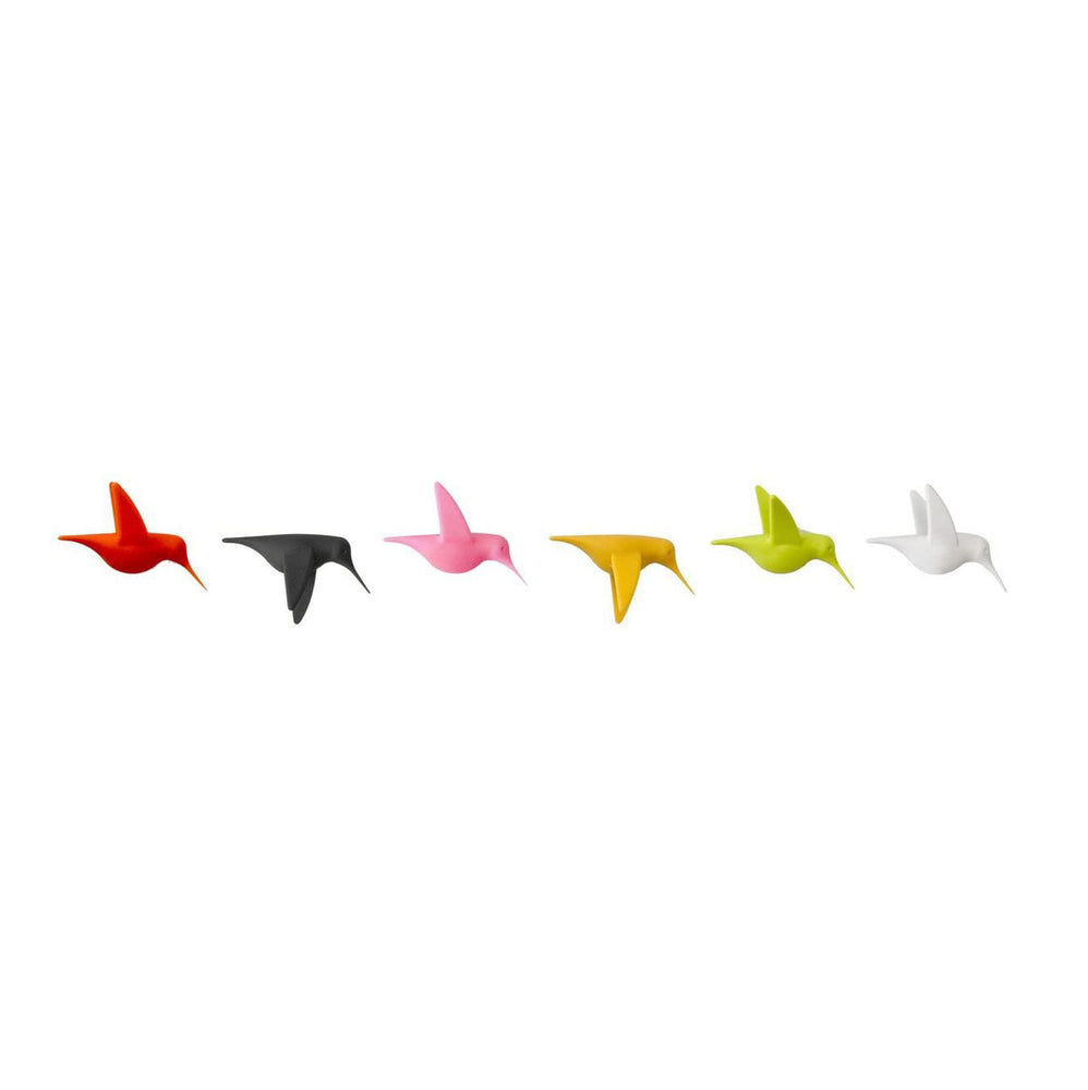 Magnets Humming Birds Multicolour