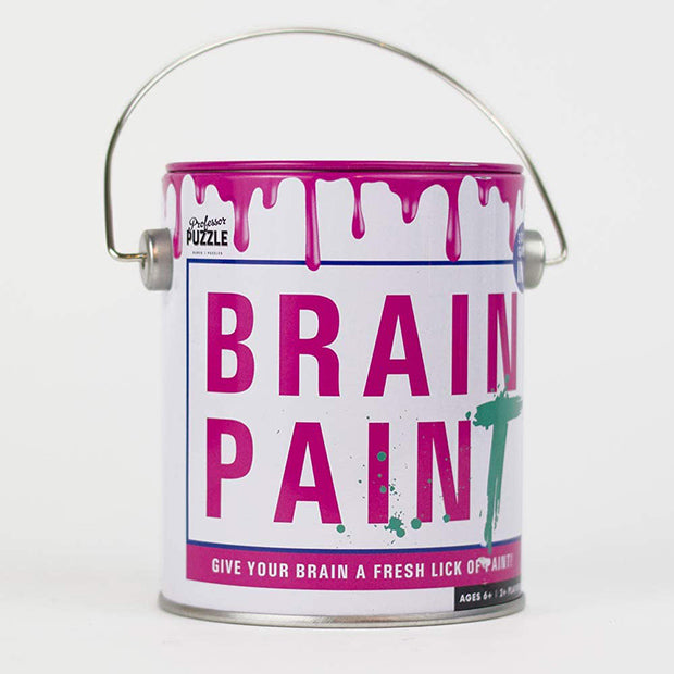 Card Game 'Brain Paint' 2+ players Pink
