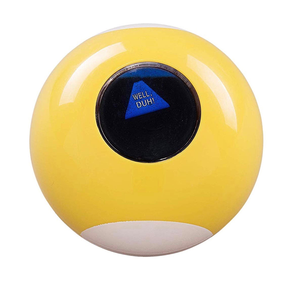 Sarcastic 9 Ball by Ridley's in yellow