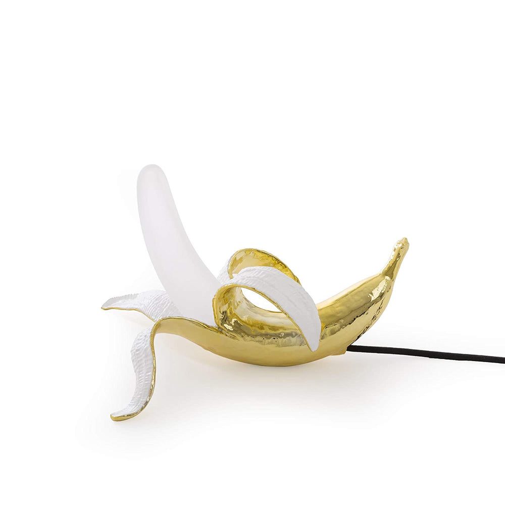 Load image into Gallery viewer, Table Lamp Banana Dewey Seletti in Gold