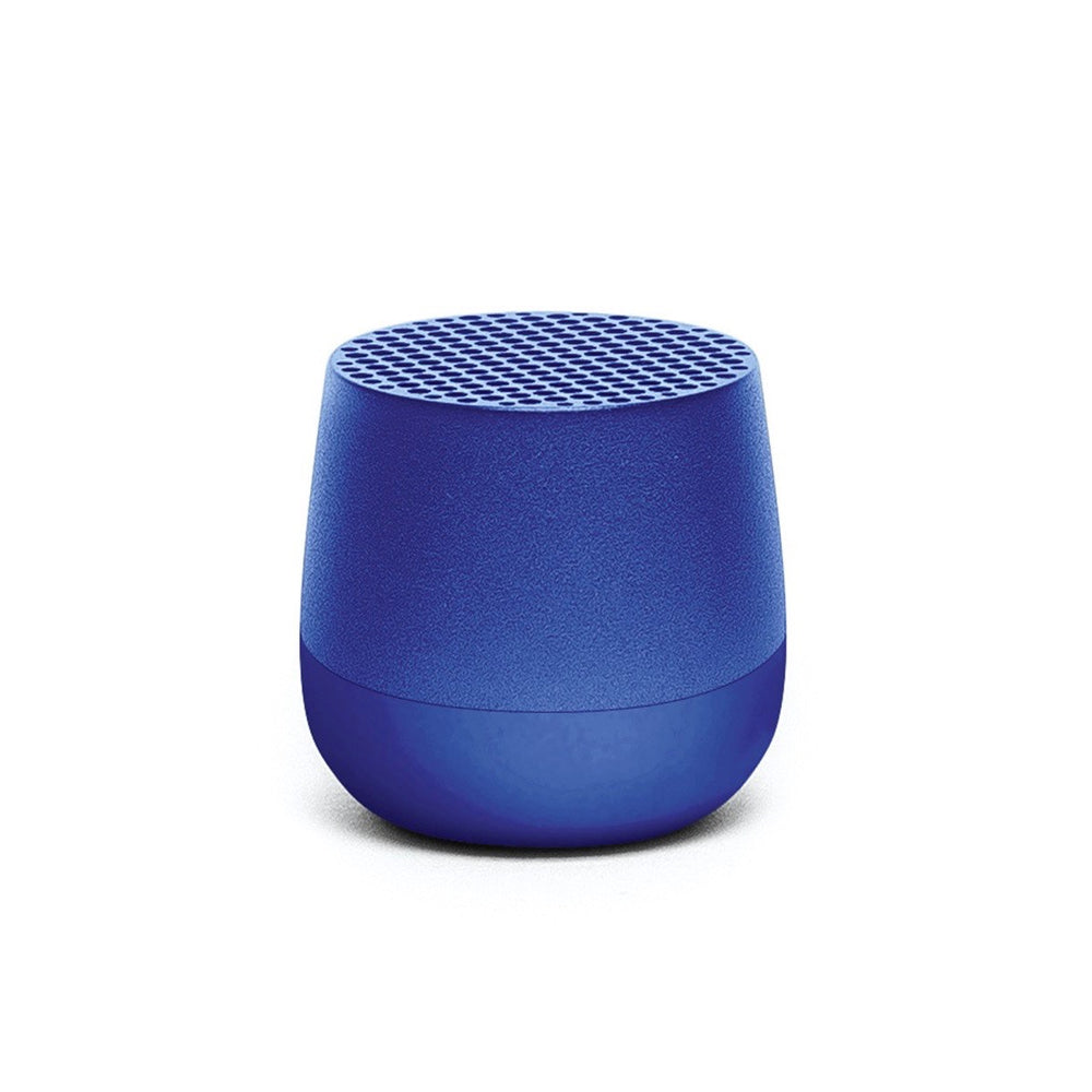 Ultra-portable bluetooth speaker in aqua blue